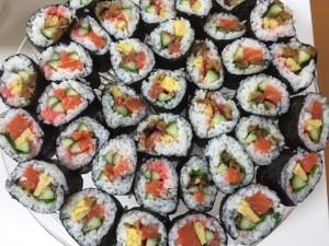 赤、黄、緑の元気寿司
