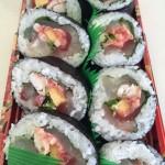 広島「寿司若」海鮮巻寿司