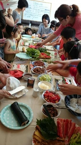 巻寿司×トルティーヤのコラボパーティー