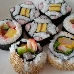 田中9    巻寿司集合