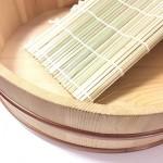 寿司桶と巻きす